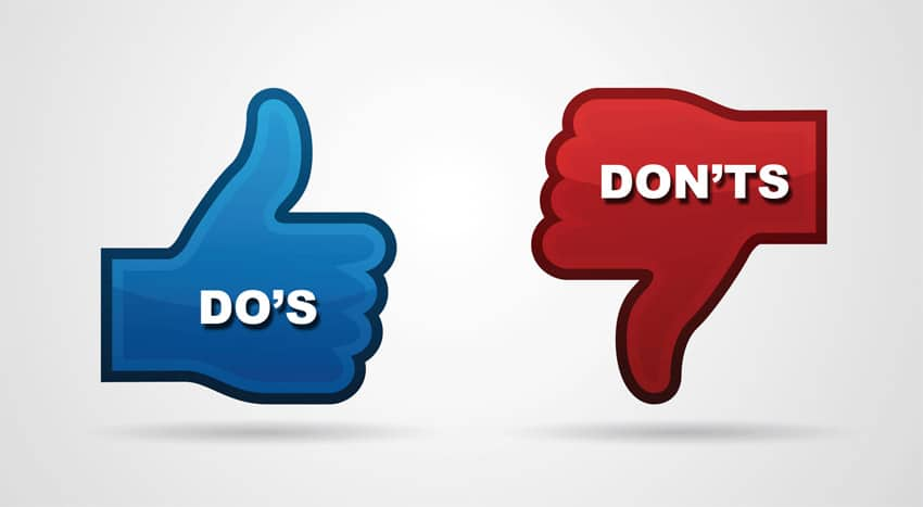 Social Media Do's and Dont's During Divorce - Attorneys In